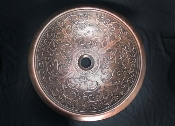 BS-023 Cast Bronze Sink Rolled Classic Design