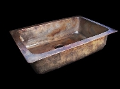 Cast Bronze Kitchen Single Sink