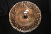 Cast Bronze Azteca Sink Copper