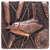 "Copper Tile 4"" Wren"