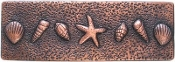 "Copper Border Tile Sealife 2 2"" x 6"""