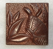 CT-052 Turtle Copper Tile