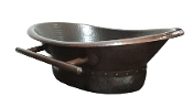 "Copper Custom Vessel Bath Tub Sink 20"" x 13"" x 6"""