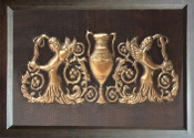 "Copper Murals And Cabinets Panels 23"" L x 16"" H"