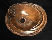 Cast Bronze Sink Flora