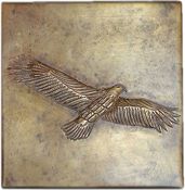 Copper Tile Eagle
