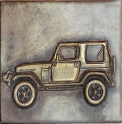 Copper Tile Jeep