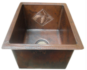 "Copper Bar Sinks 16"" X 12"" Copper Designs"