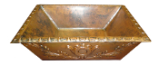 Copper Custom Quattro Vessel Sink 20""