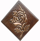 Copper Tile Rose