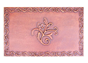 "Copper Mural And Cabinet Panel 32"" x 20"" MP-011"
