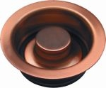 "Copper Kitchen Sink Drain 3 1/2"" Disposal"